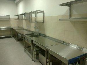 Столы для кухонь общепита