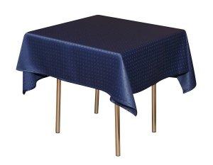 Скатерть 145х145 см «Мираж» синяя