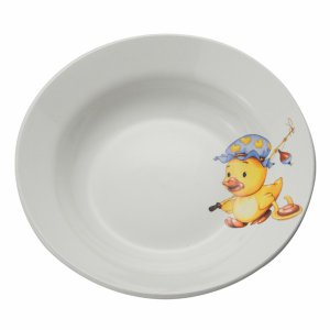 Тарелка глубокая 200 мм Утенок/Медвежонок