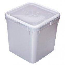 Контейнер универсальный (куботейнер) 340х340х320 мм квадратный пластик